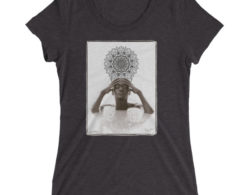 Meditate with N'Deye Youm - Ladies' short sleeve T-shirt