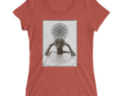 Meditate with N'Deye Youm - Short Sleeve Unisex T-Shirt