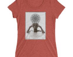 Meditate with N'Deye Youm - Short Sleeve Unisex T-Shirt